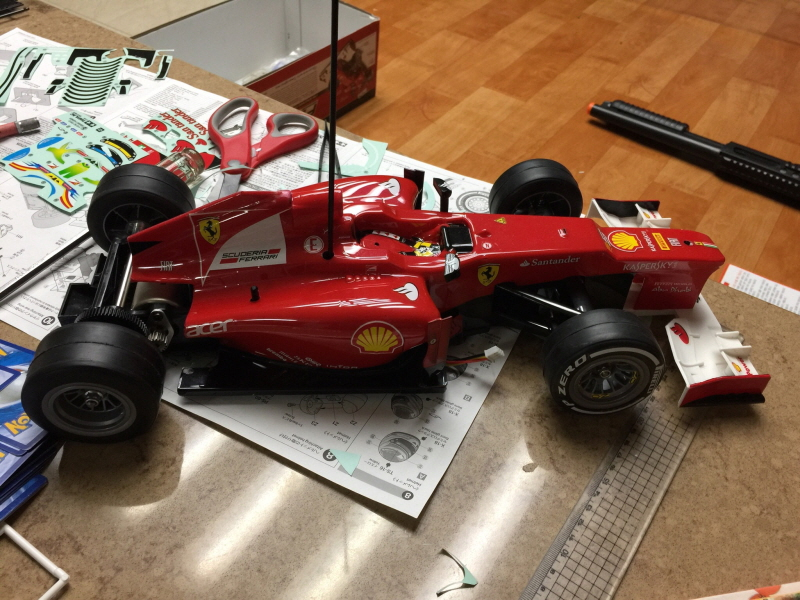 Tamiya F1 Ferrari RC 58559 (Hit:1303)